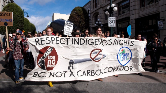 indigenous protest