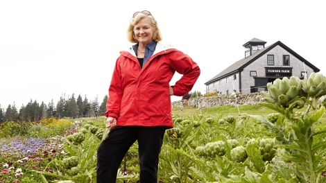 Small farmers like Congresswoman Chellie Pingree have a reason to smile.