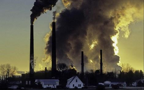 Coal-fired power plant in Conesville, Ohio