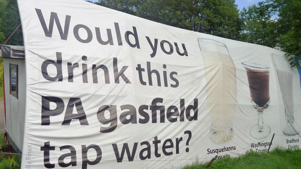 Fracking is rampant in Pennsylvania