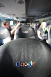 Google bus interior