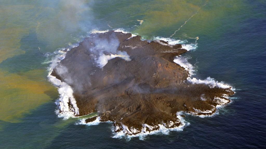 New Japan island