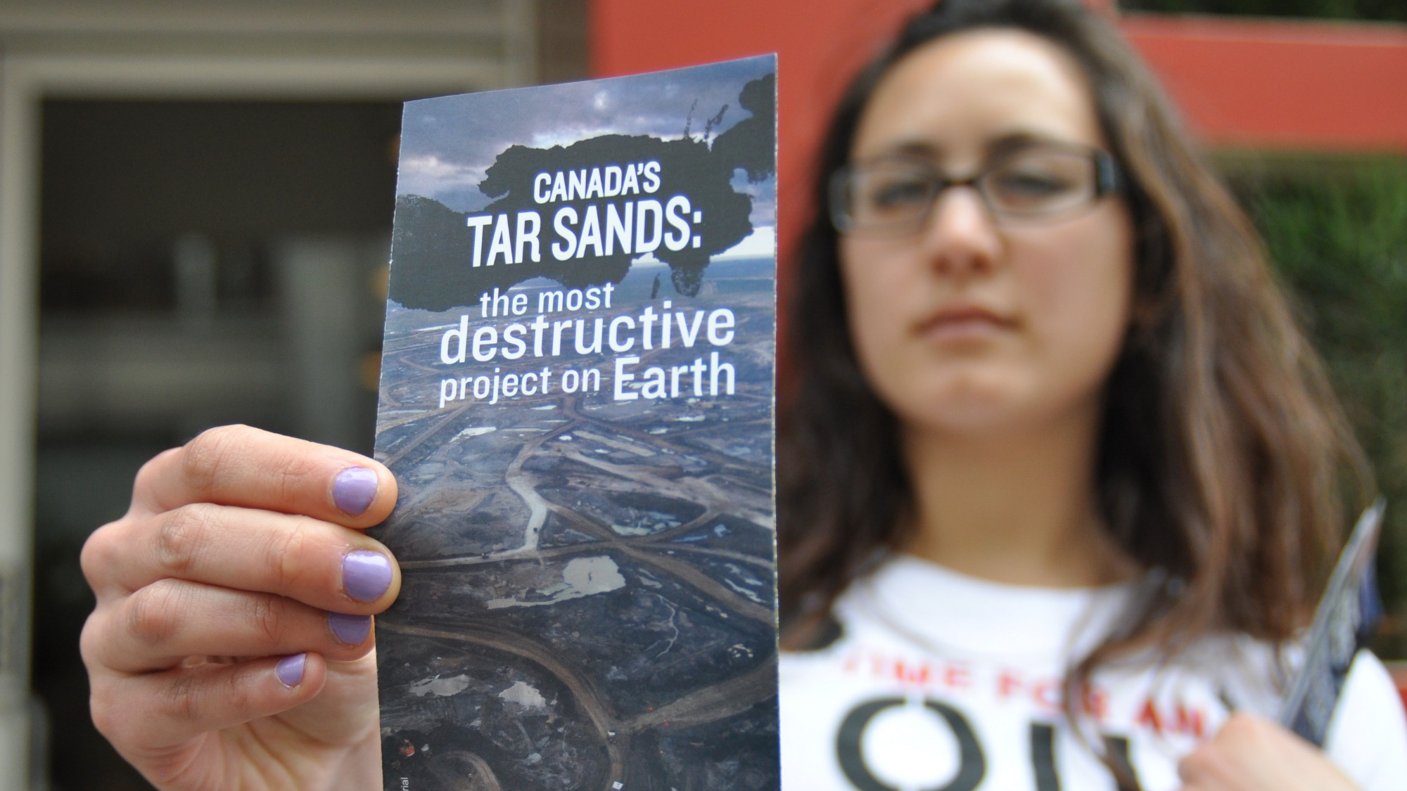 No tar sands oil