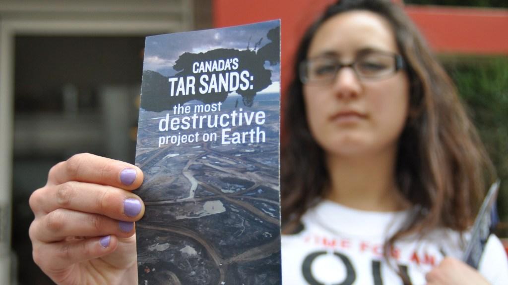 No tar sands oil