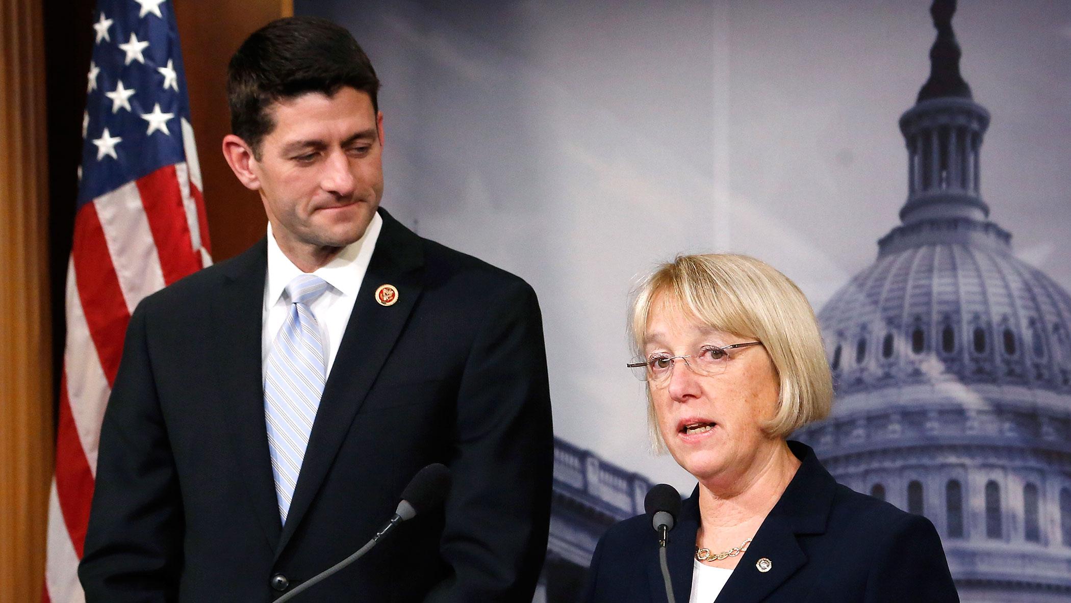Paul Ryan and Patty Murray