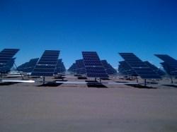 SunPower's solar facility in Alamosa.