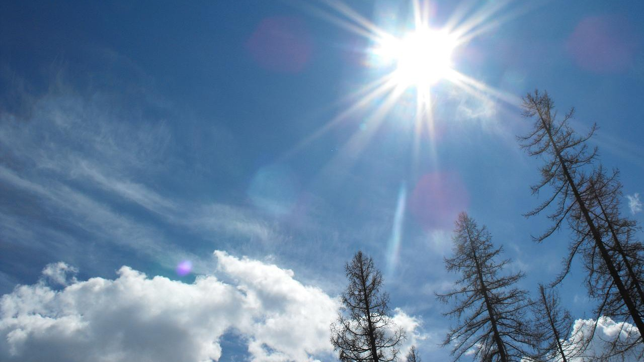 The ozone layer protects us from the sun's ultraviolet rays