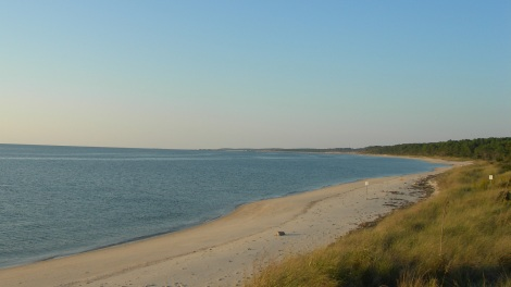 Virginia coastline