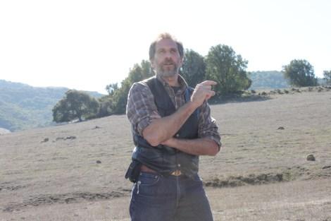 Rangeland ecologist Jeff Creque