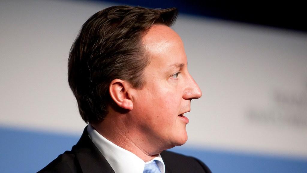 British PM David Cameron