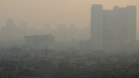 Delhi smog