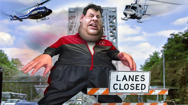 Christie bridge cartoon