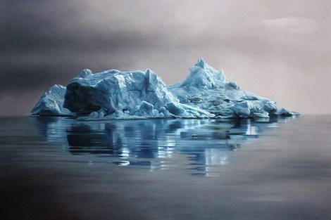 "Greenland #62 / 47""x70"" / Soft pastel on paper"
