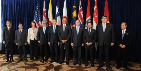 Why are these leaders of Pacific trade group nations (gathered in 2010) all smiling?