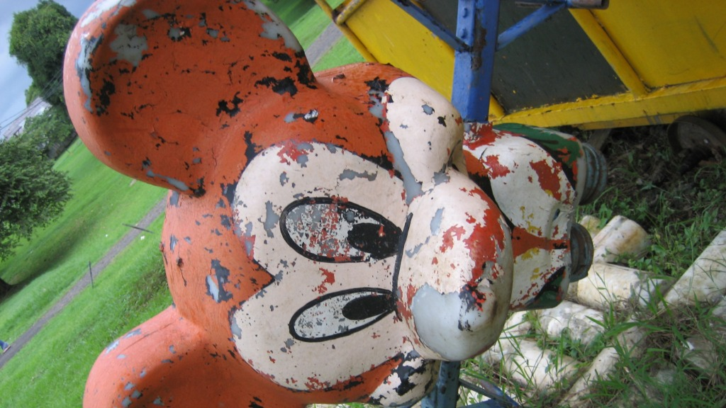Mickey Mouse playground equipment