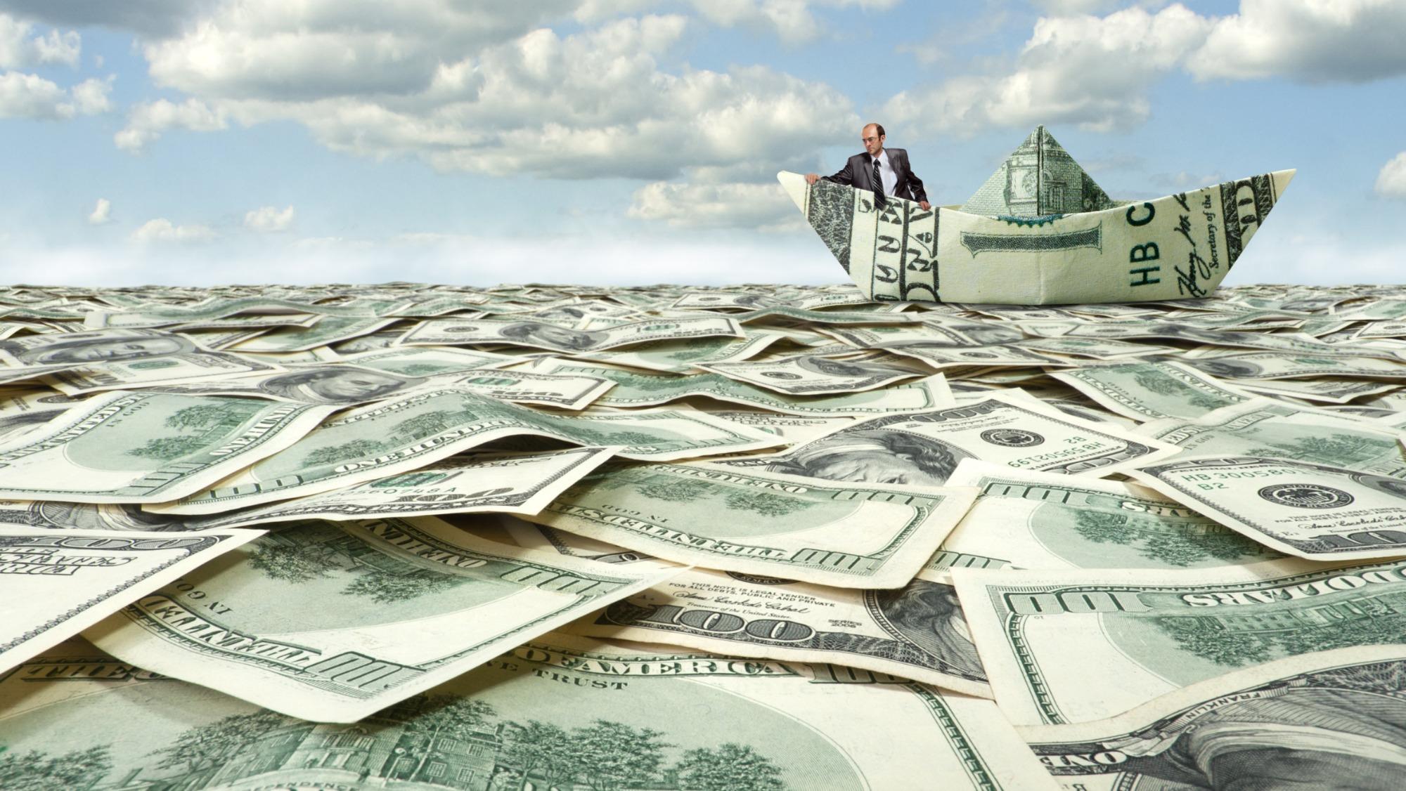 A rising sea of money