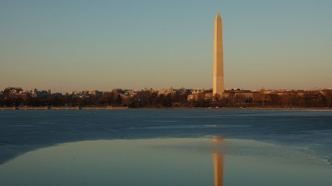 Washington Monument and Potomac River