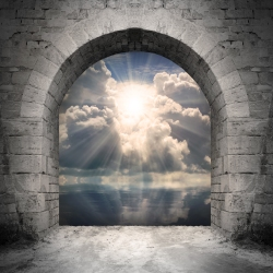 """""""Destiny,"""" from now on referred to as """"The Heavenly Light in the Doorway."""""""