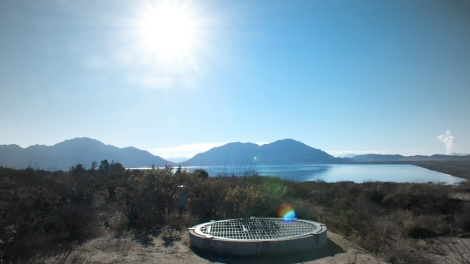By the time water reaches Lake Perris -- the southern end of the State Water Project, 90 miles east of Lost Angeles -- it has traveled 700 miles from the Sierra Nevada Mountains.