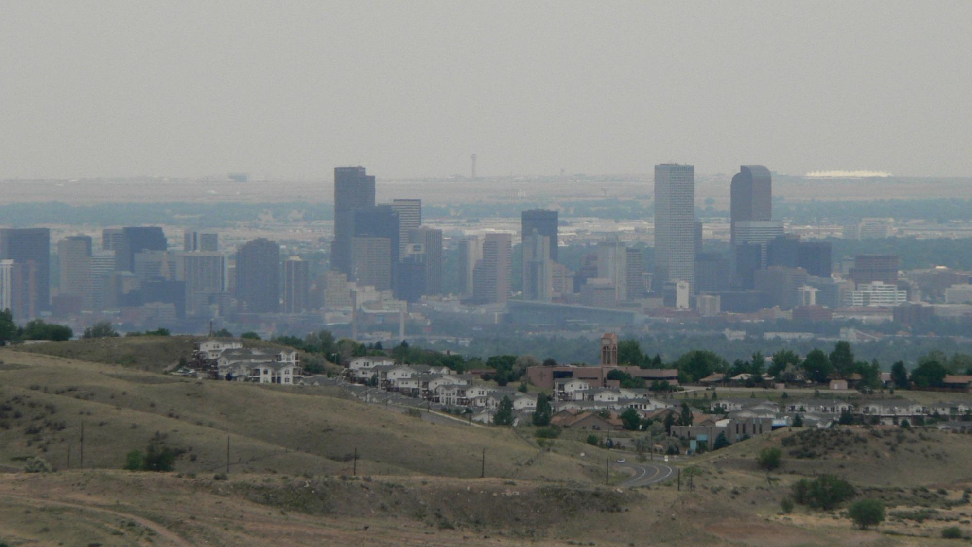 Smoggy Denver