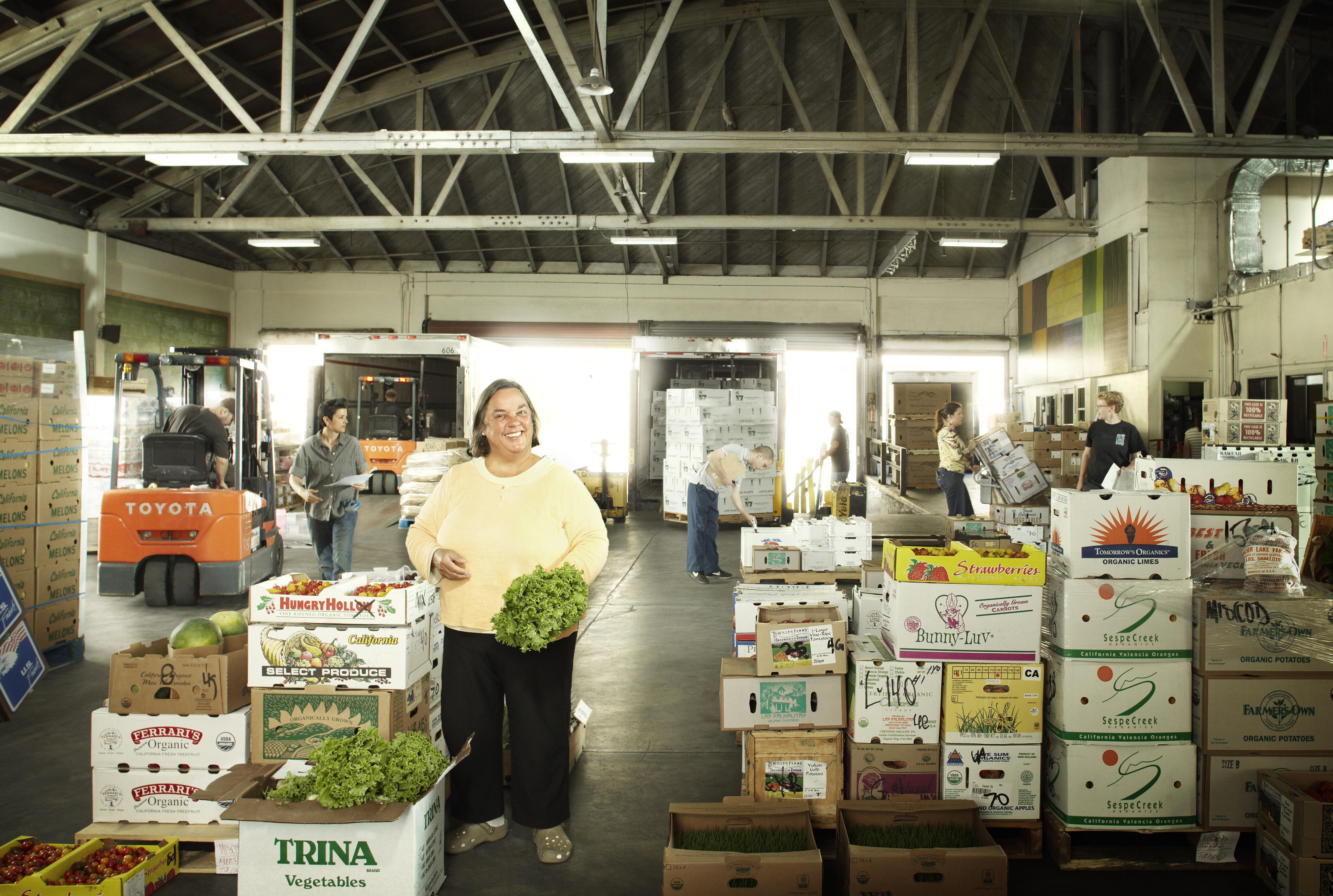 Bu Nygrens, director of purchasing for Veritable Vegetable