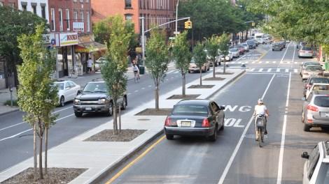 complete street in Brooklyn