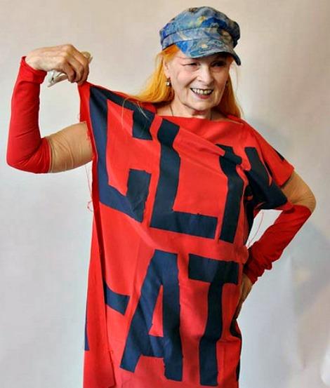 Vivienne Westwood, fashion badass.