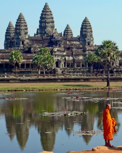 The ancient city of Angkor Wat became overburdened by its elaborate waterworks.
