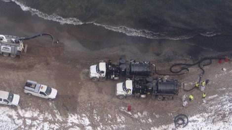 BP Whiting oil spill