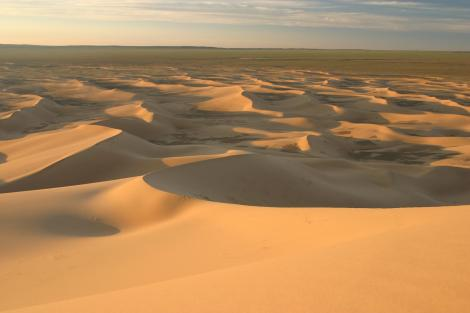 Khongoryn Els-Gobi Desert in Mongolia. Both a literal, and food desert