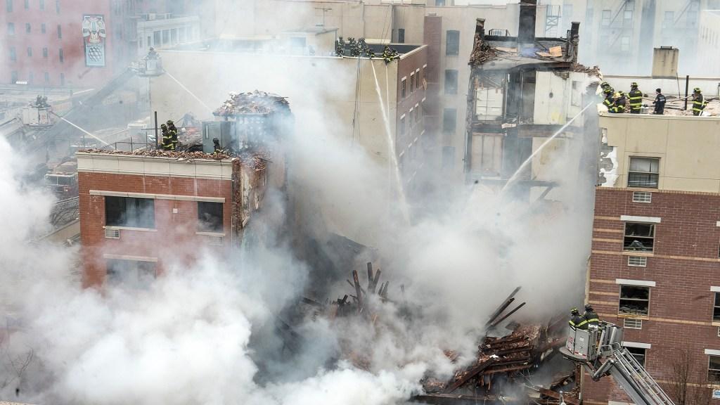 Aftermath of East Harlem gas leak explosion
