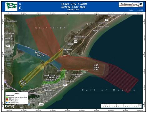 galveston oil spill map