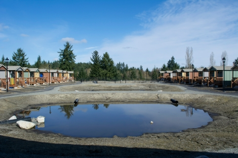 Quixote Village in Olympia, Wash., is a tiny house community that opened on Christmas Eve 2013.