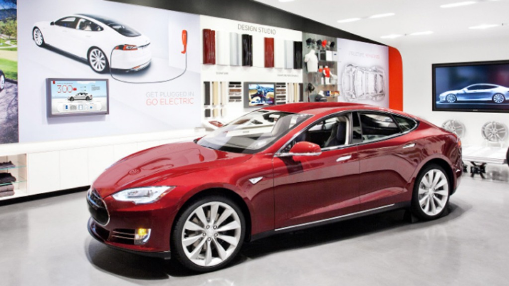 Tesla sales center