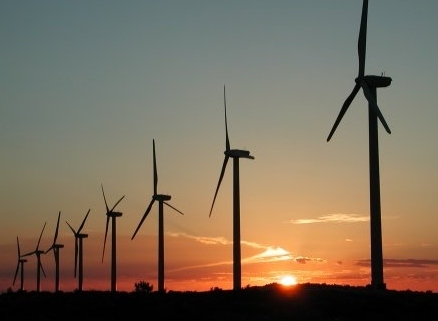 Wind_Energy sunset