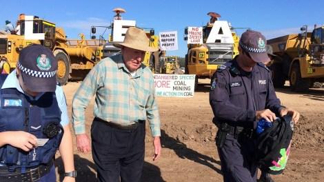 bill-ryan-protesting-coal-mine