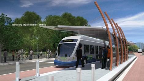 bus rapid transit sketch