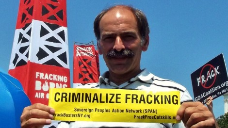 Criminalize fracking