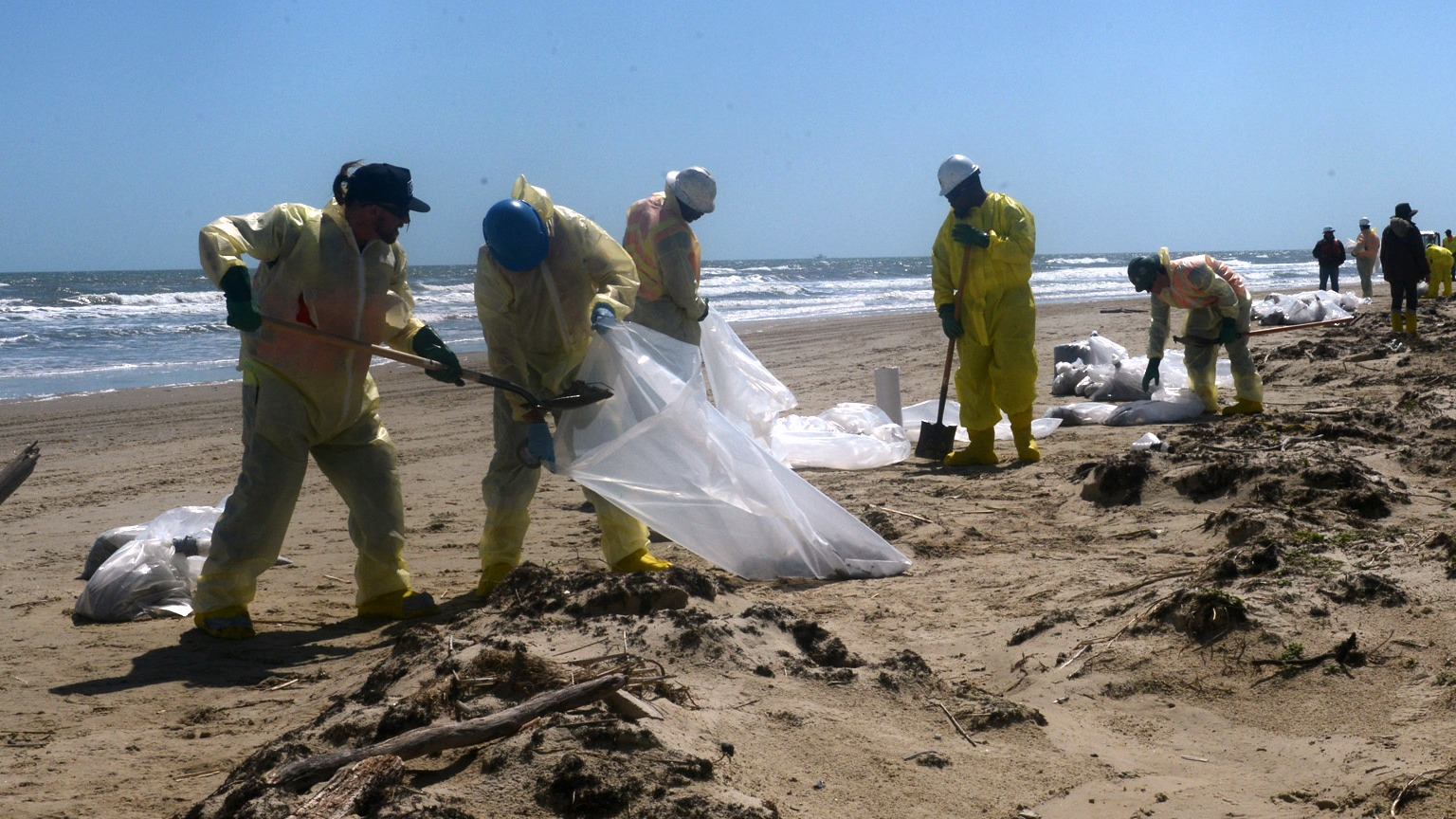 Galveston Bay cleanup