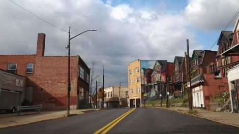 Garfield, the Pittsburgh neighborhood where cityLAB plans to construct a tiny house.