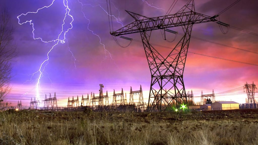storms and the power grid