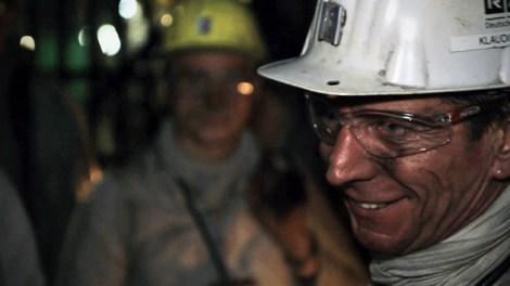 A miner at Prosper Haniel.
