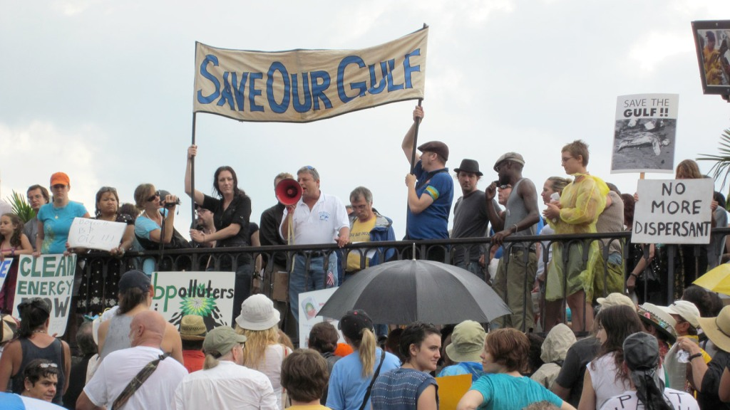 """Save our Gulf"" rally"