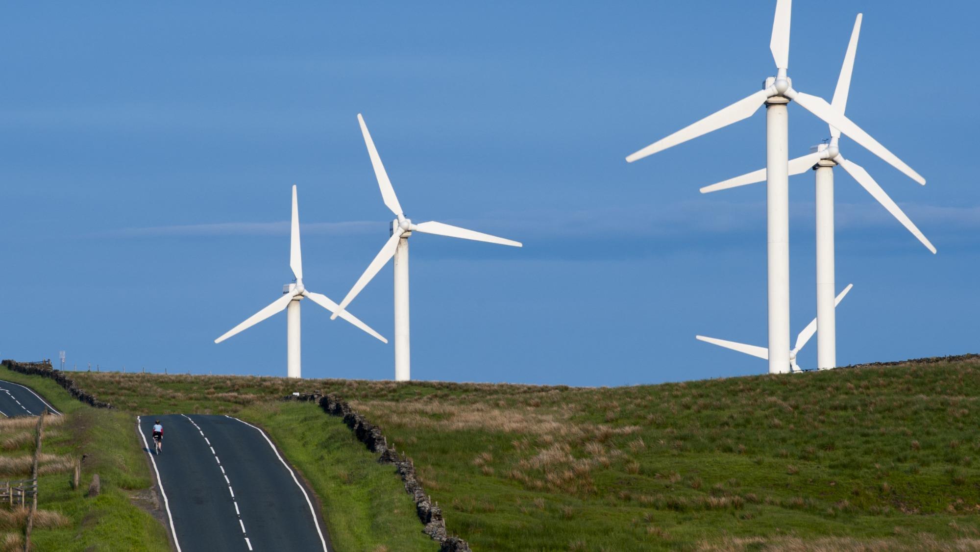 wind power in England