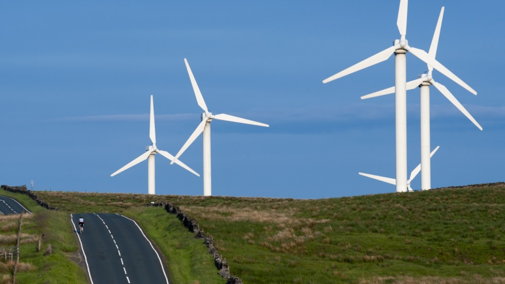 wind power in England