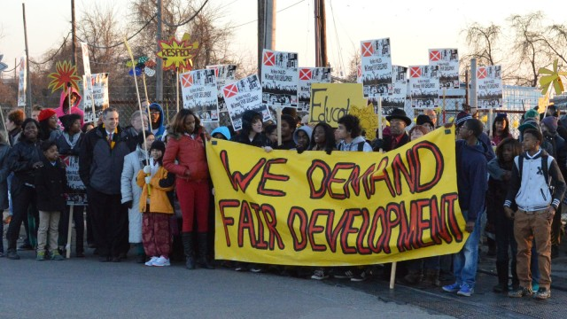 Protest in Baltimore: March to Stop the Incinerator
