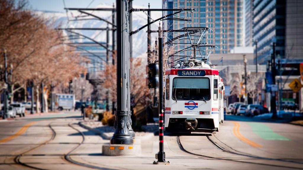 light rail in Salt Lake City