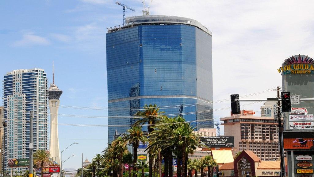 The Fontainebleau under construction in Las Vegas