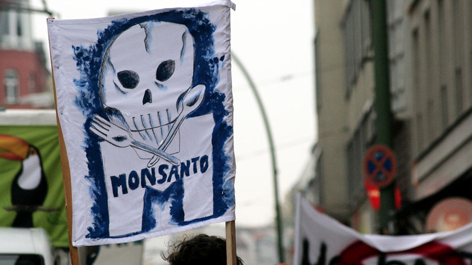 Monsanto protest sign