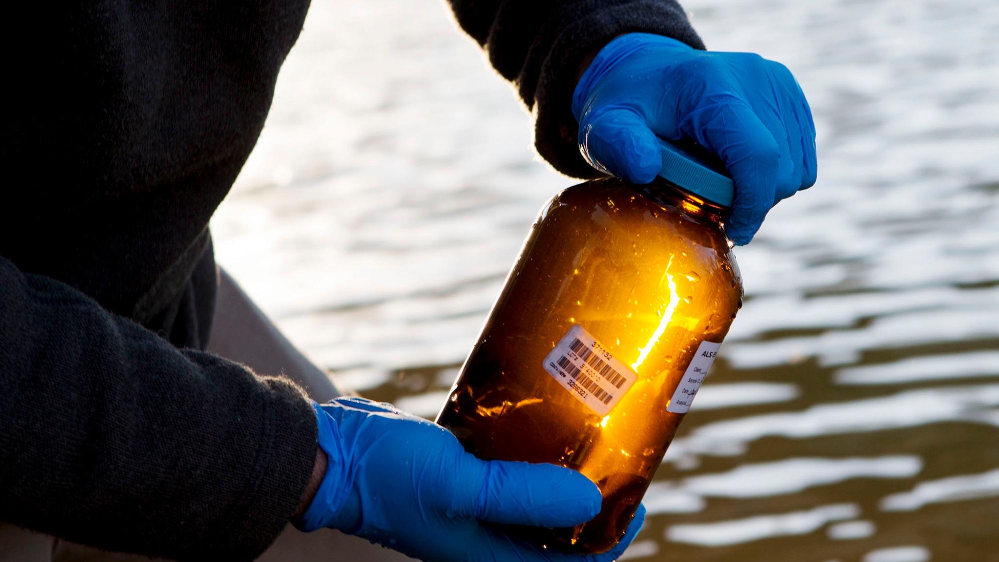 Elk River water sample